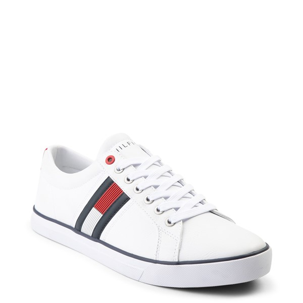 alternate view Mens Tommy Hilfiger Revel Casual Shoe - WhiteALT5
