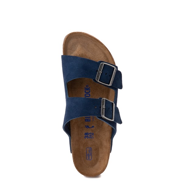 alternate view Womens Birkenstock Arizona Soft Footbed Sandal - Moroccan BlueALT2