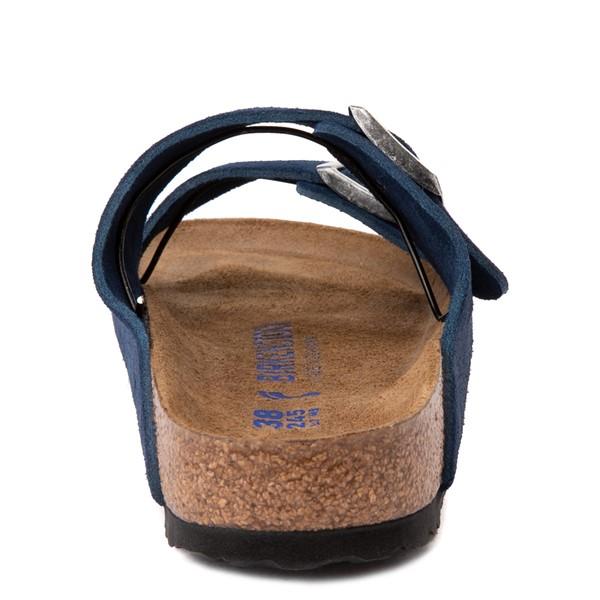 alternate view Womens Birkenstock Arizona Soft Footbed Sandal - Moroccan BlueALT4