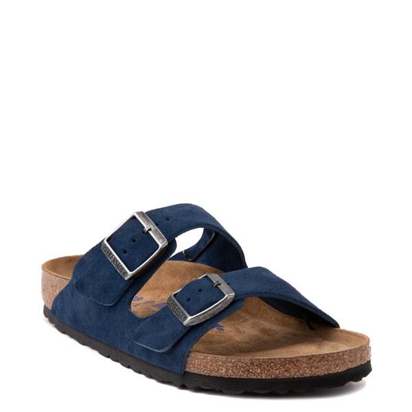 alternate view Womens Birkenstock Arizona Soft Footbed Sandal - Moroccan BlueALT5