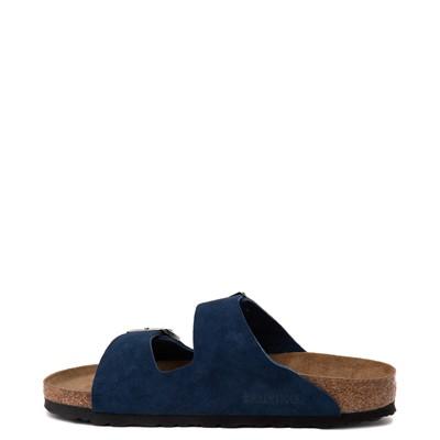 Alternate view of Womens Birkenstock Arizona Soft Footbed Sandal - Moroccan Blue