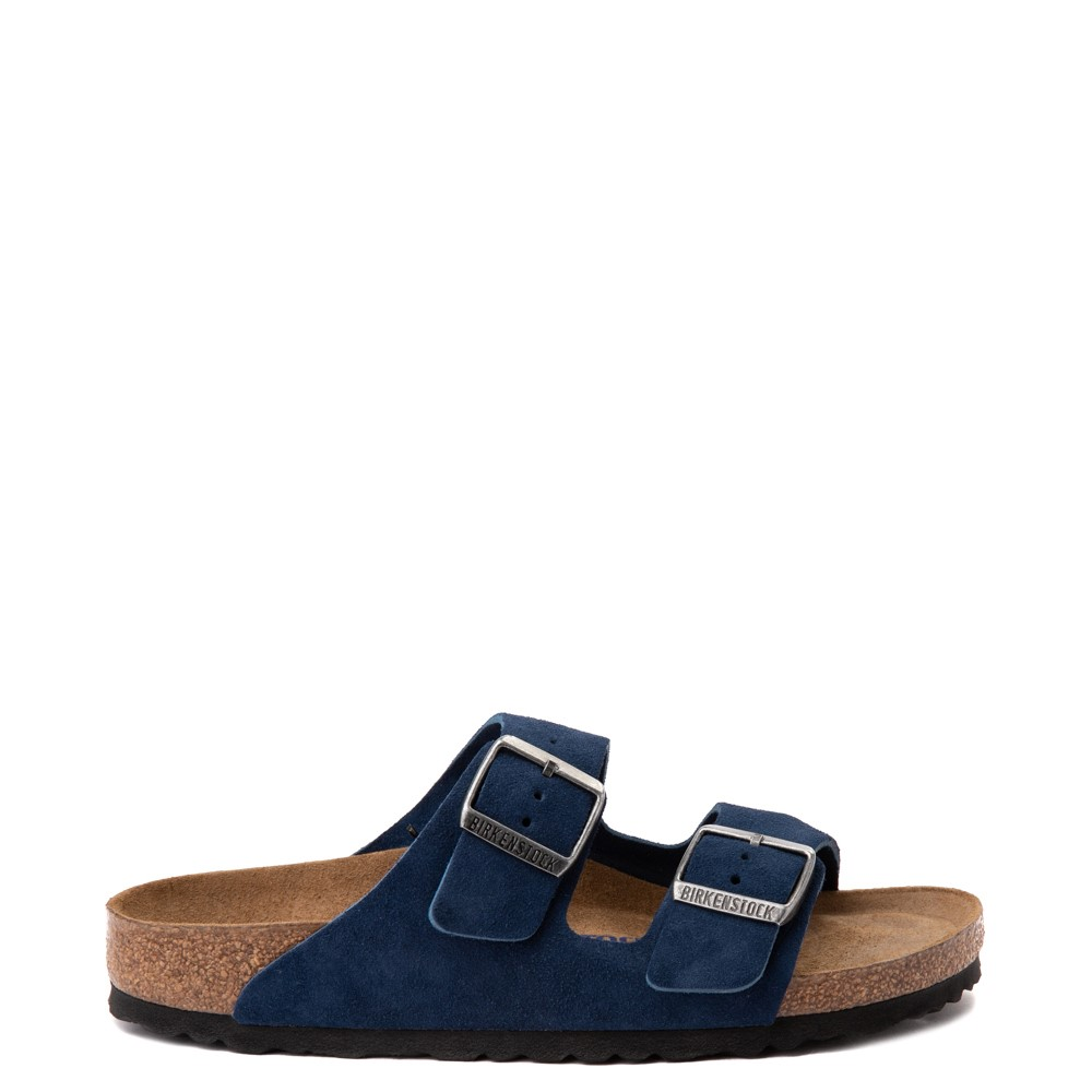 Womens Birkenstock Arizona Soft Footbed Sandal - Moroccan Blue