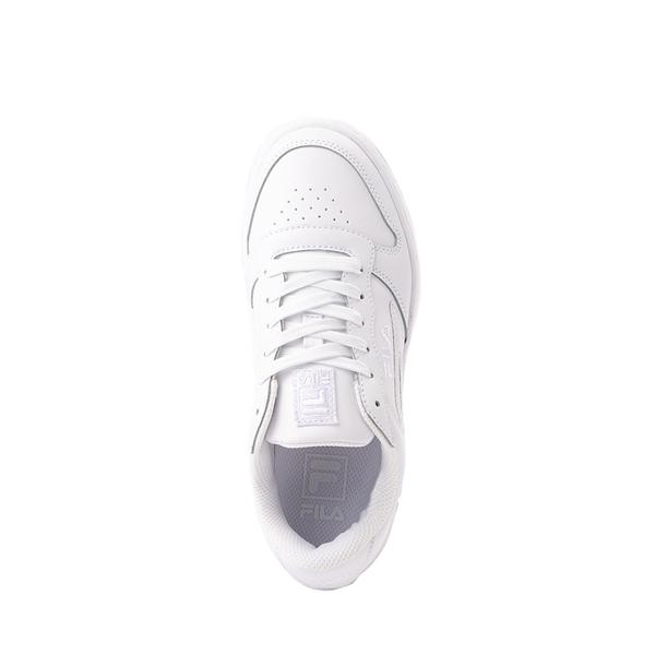 alternate view Fila LNX 100 Athletic Shoe - Big Kid - White MonochromeALT2