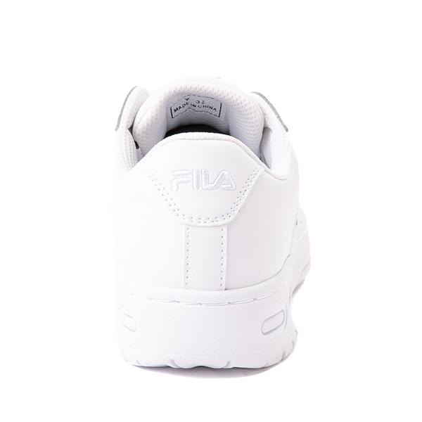 alternate view Fila LNX 100 Athletic Shoe - Big Kid - White MonochromeALT4