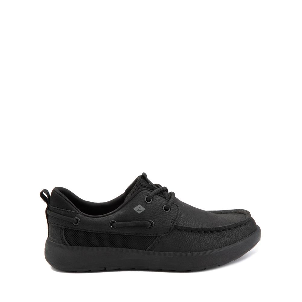Sperry Top-Sider Fairwater PlushWave Boat Shoe - Little Kid / Big Kid - Black