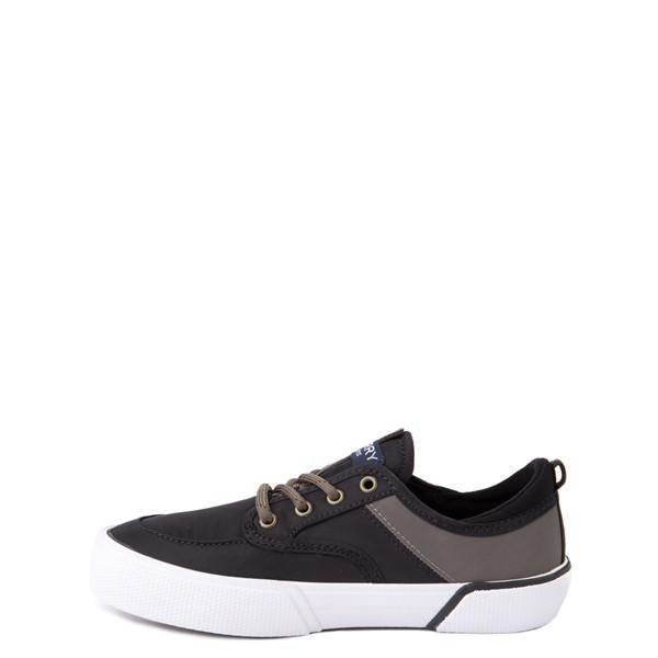 alternate view Sperry Top-Sider Soletide Sneaker - Little Kid / Big Kid - Black / Gray FishALT1