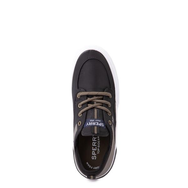 alternate view Sperry Top-Sider Soletide Sneaker - Little Kid / Big Kid - Black / Gray FishALT2