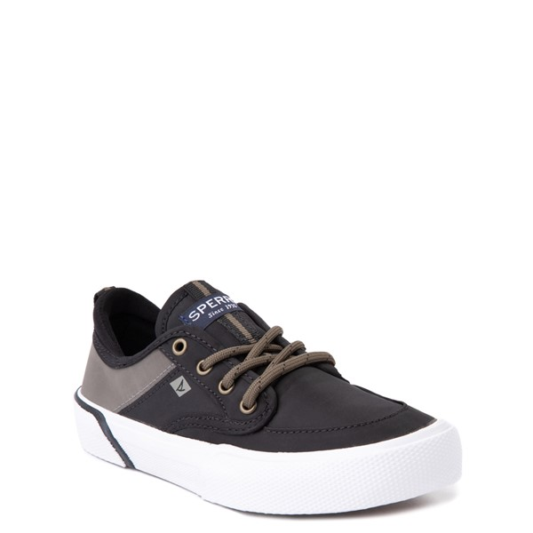 alternate view Sperry Top-Sider Soletide Sneaker - Little Kid / Big Kid - Black / Gray FishALT5