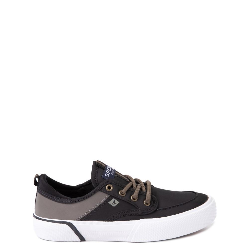 Sperry Top-Sider Soletide Sneaker - Little Kid / Big Kid - Black / Gray Fish