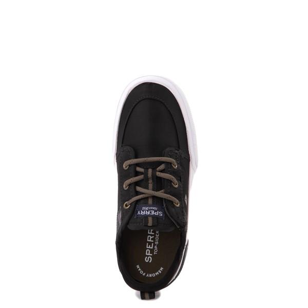 alternate view Sperry Top-Sider Soletide Sneaker - Toddler / Little Kid - Black / Gray FishALT2