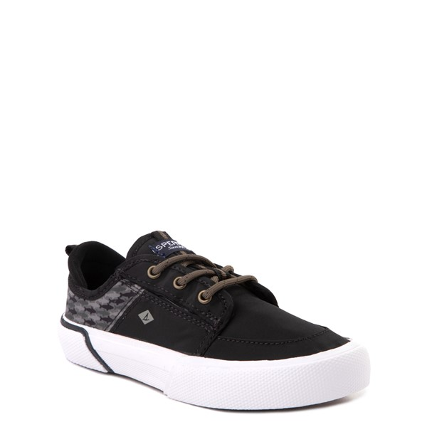 alternate view Sperry Top-Sider Soletide Sneaker - Toddler / Little Kid - Black / Gray FishALT5