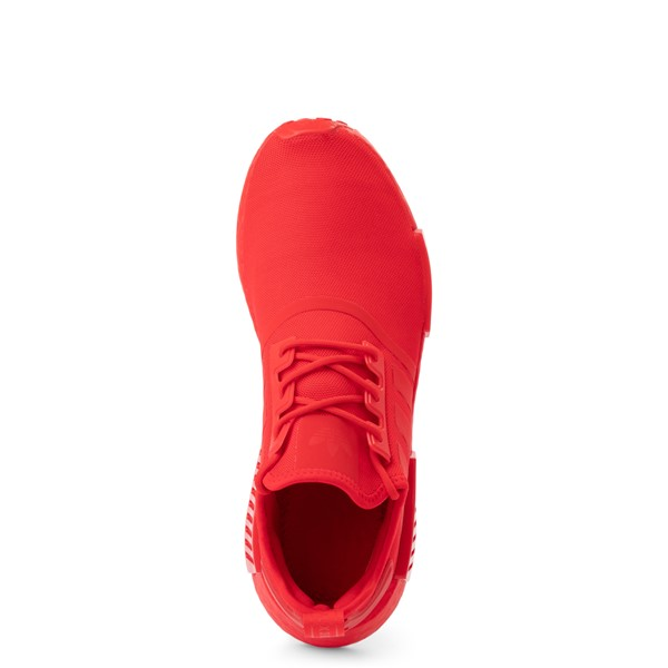 alternate view Mens adidas NMD R1 Athletic Shoe - Vivid Red MonochromeALT2