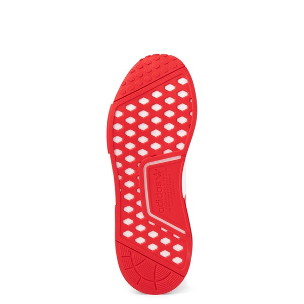 alternate view Mens adidas NMD R1 Athletic Shoe - Vivid Red MonochromeALT3