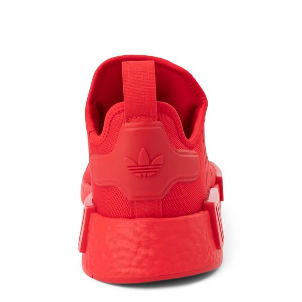 alternate view Mens adidas NMD R1 Athletic Shoe - Vivid Red MonochromeALT4
