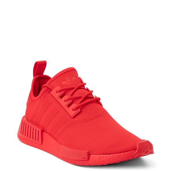 alternate view Mens adidas NMD R1 Athletic Shoe - Vivid Red MonochromeALT5