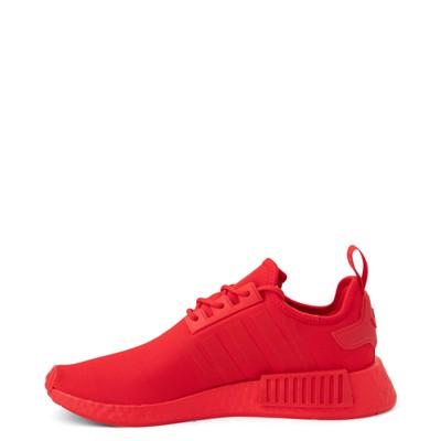 Alternate view of Mens adidas NMD R1 Athletic Shoe - Vivid Red Monochrome