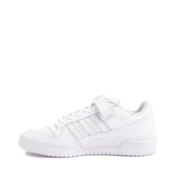 alternate view Mens adidas Forum Low Athletic Shoe - White MonochromeALT1