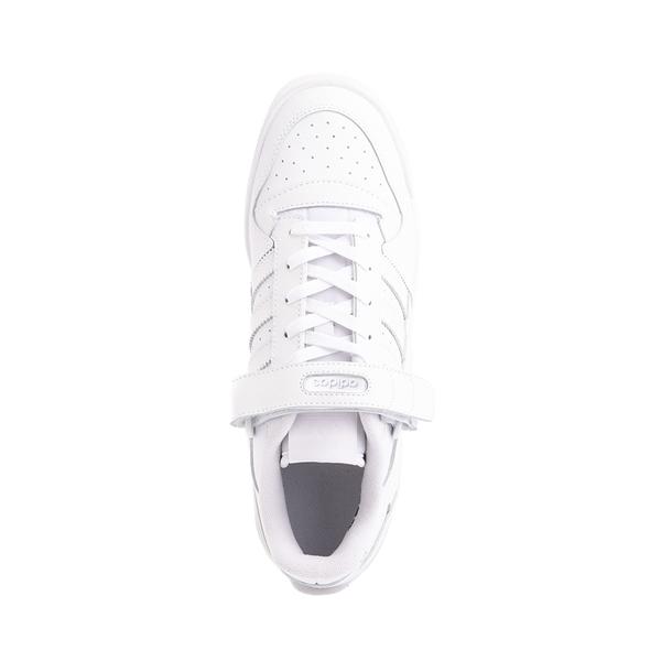 alternate view Mens adidas Forum Low Athletic Shoe - White MonochromeALT2