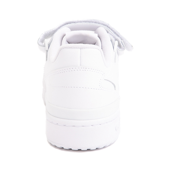 alternate view Mens adidas Forum Low Athletic Shoe - White MonochromeALT4