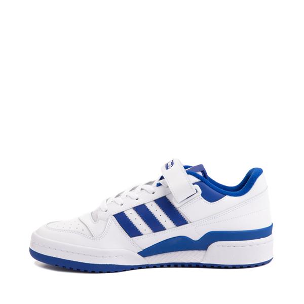 alternate view Mens adidas Forum Low Athletic Shoe - White / Collegiate Royal BlueALT1