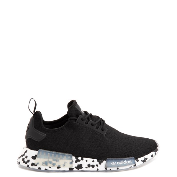 Main view of Mens adidas NMD R1 Speckle Athletic Shoe - Black
