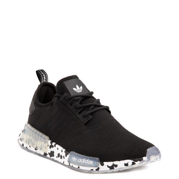 alternate view Mens adidas NMD R1 Speckle Athletic Shoe - BlackALT5