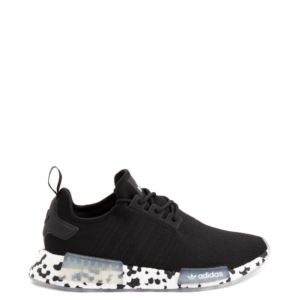 Mens adidas NMD R1 Speckle Athletic Shoe - Black