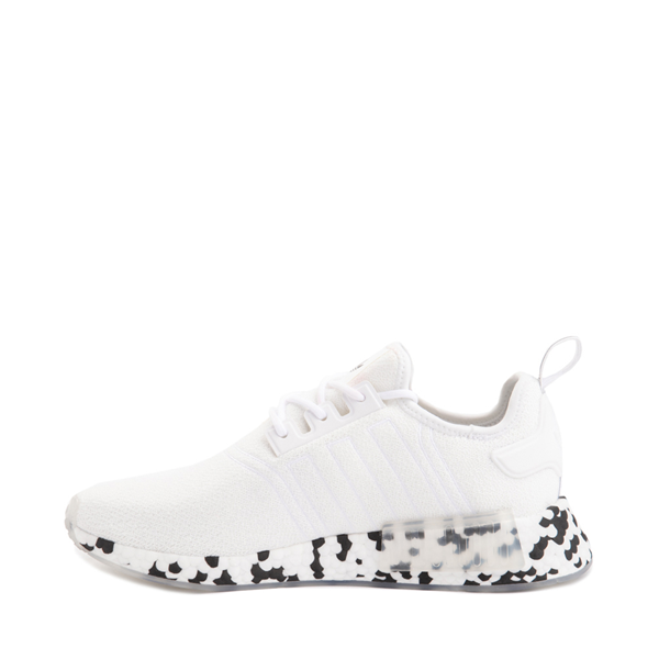 alternate view Mens adidas NMD R1 Speckle Athletic Shoe - WhiteALT1