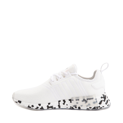 Alternate view of Mens adidas NMD R1 Speckle Athletic Shoe - White