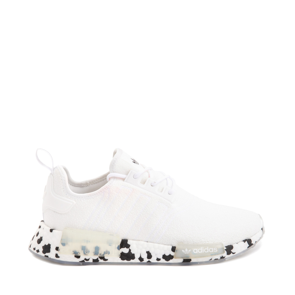 Mens adidas NMD R1 Speckle Athletic Shoe - White
