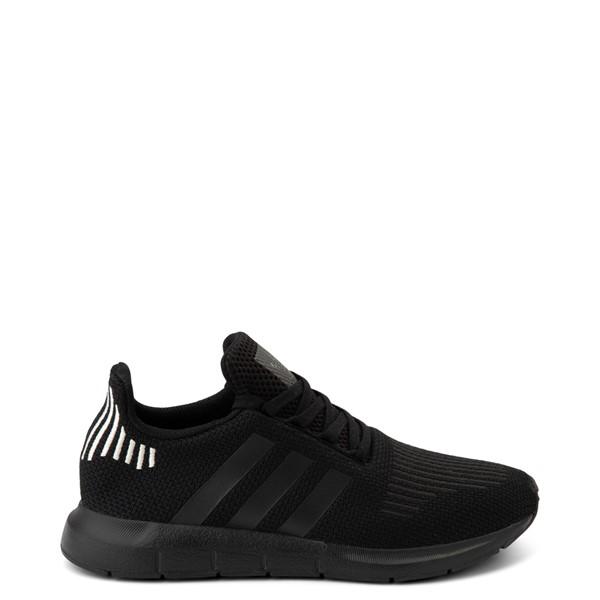 Main view of Womens adidas Swift Run Athletic Shoe - Black Monochrome
