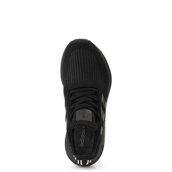alternate view Womens adidas Swift Run Athletic Shoe - Black MonochromeALT2