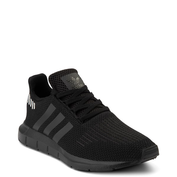 alternate view Womens adidas Swift Run Athletic Shoe - Black MonochromeALT5