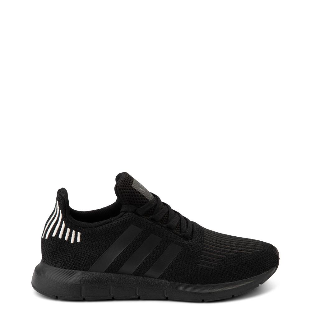 Womens adidas Swift Run Athletic Shoe - Black Monochrome