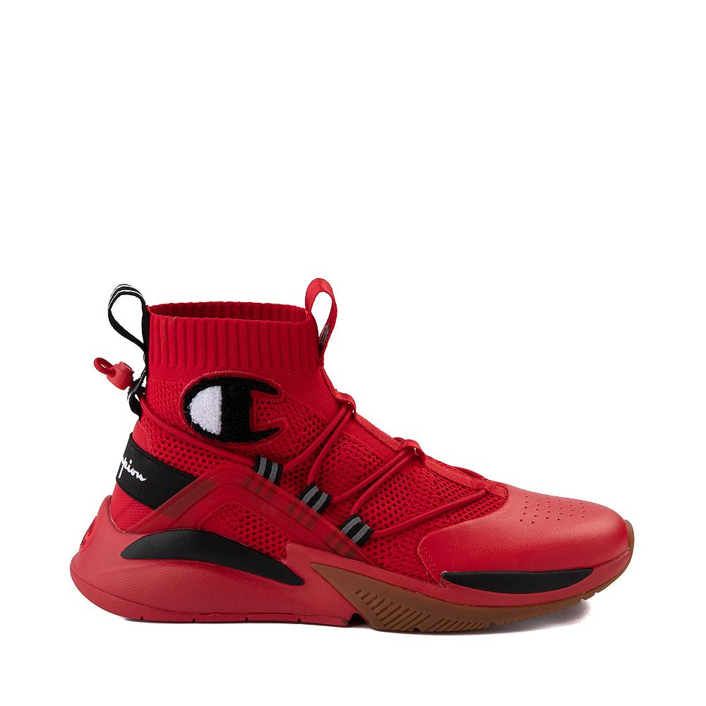 Mens Champion XG Rally Plus Athletic Shoe - Scarlet