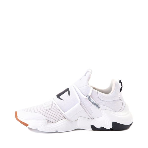 alternate view Mens Champion Hyper C Link Athletic Shoe - White / Black / RedALT1