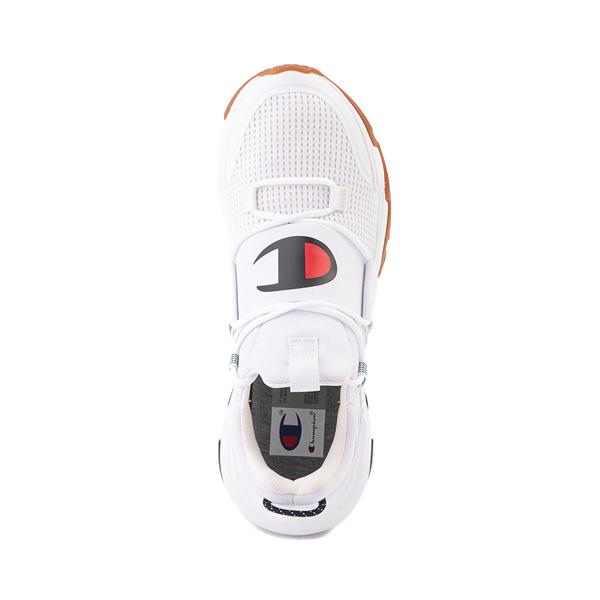 alternate view Mens Champion Hyper C Link Athletic Shoe - White / Black / RedALT2