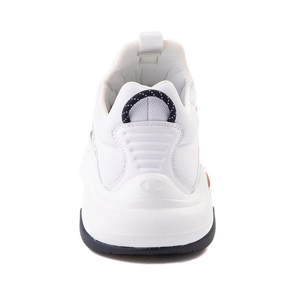 alternate view Mens Champion Hyper C Link Athletic Shoe - White / Black / RedALT4