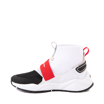 Alternate view of Womens Champion Rally Neo Hi Athletic Shoe - White / Black / Red