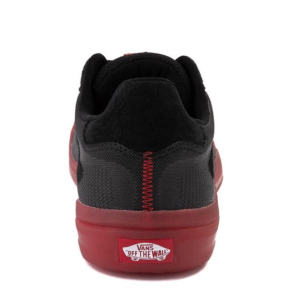 alternate view Vans EVDNT Ultimate Waffle Skate Shoe - Black / RedALT4