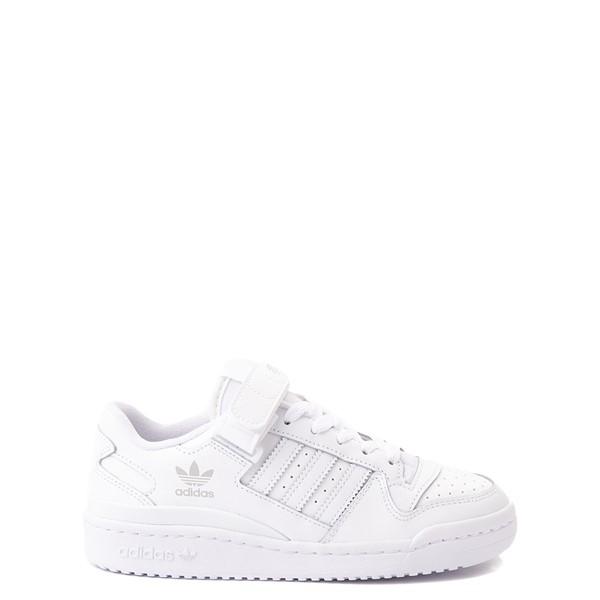 adidas Forum Low Athletic Shoe - Big Kid - White