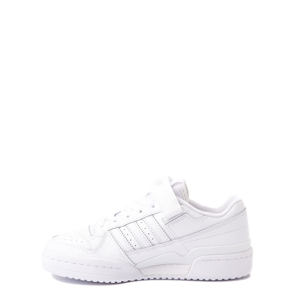alternate view adidas Forum Low Athletic Shoe - Big Kid - WhiteALT1