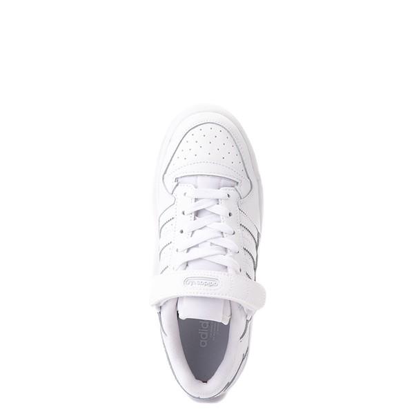 alternate view adidas Forum Low Athletic Shoe - Big Kid - WhiteALT2
