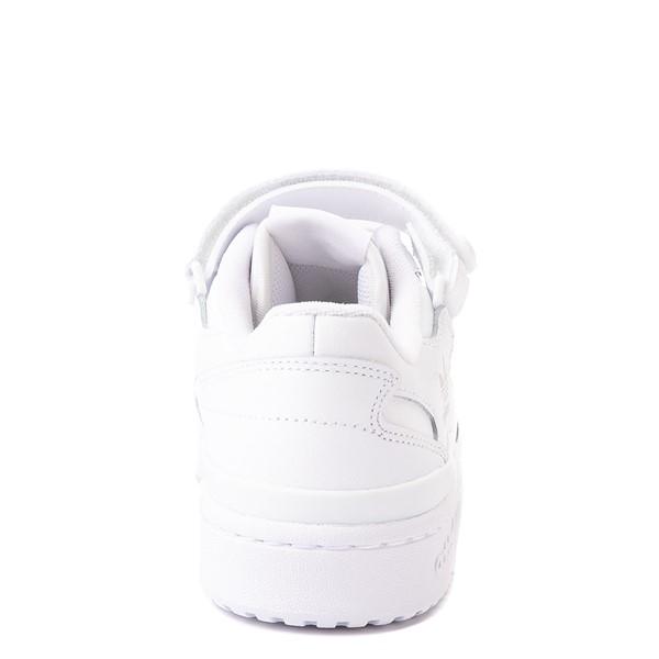 alternate view adidas Forum Low Athletic Shoe - Big Kid - WhiteALT4