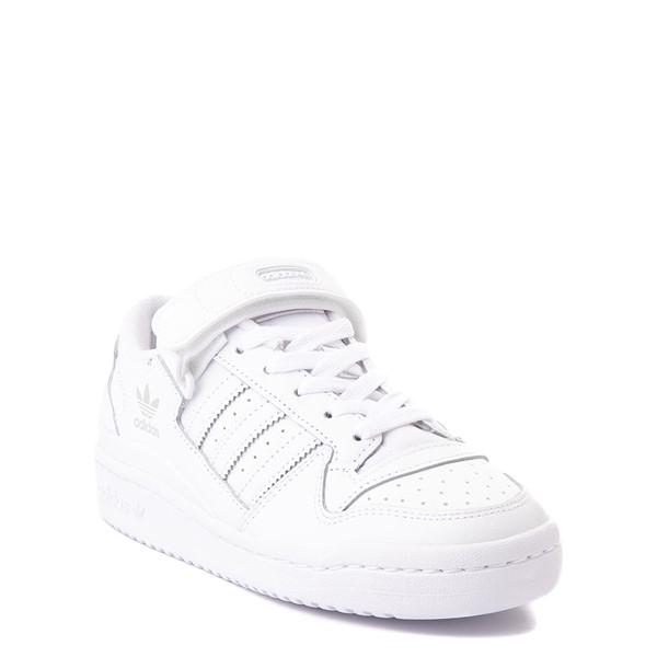 alternate view adidas Forum Low Athletic Shoe - Big Kid - WhiteALT5