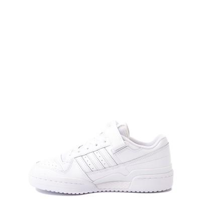 Alternate view of adidas Forum Low Athletic Shoe - Big Kid - White