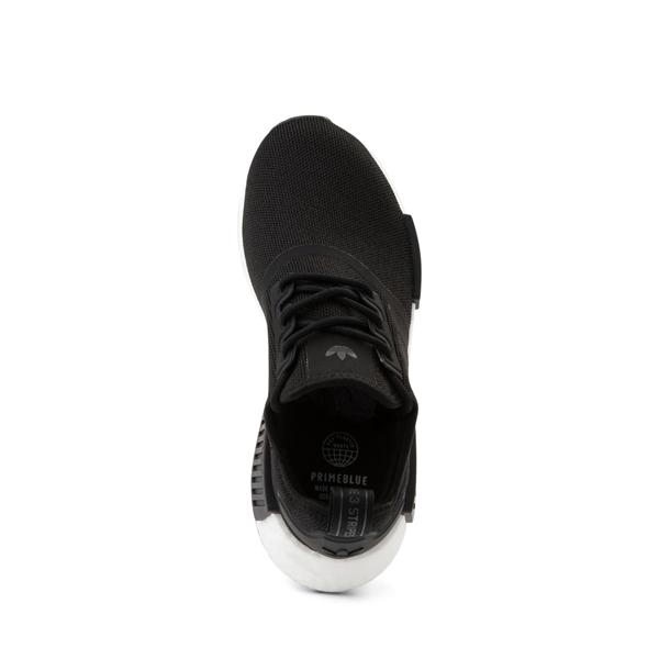 alternate view adidas NMD R1 Athletic Shoe - Big Kid - BlackALT2