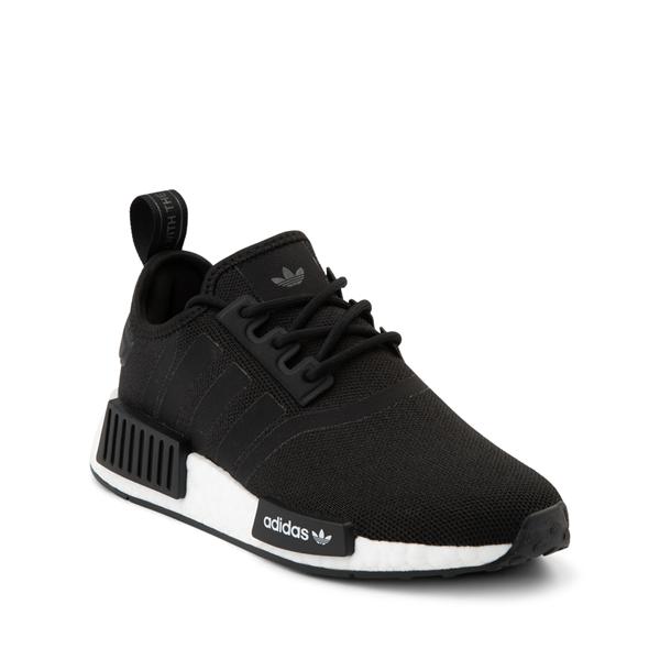 alternate view adidas NMD R1 Athletic Shoe - Big Kid - BlackALT5