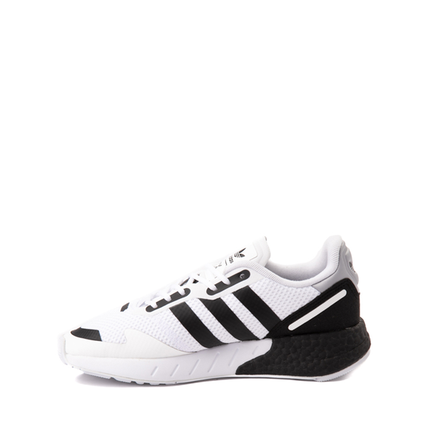 alternate view adidas ZX 1K Boost Athletic Shoe - Big Kid - WhiteALT1