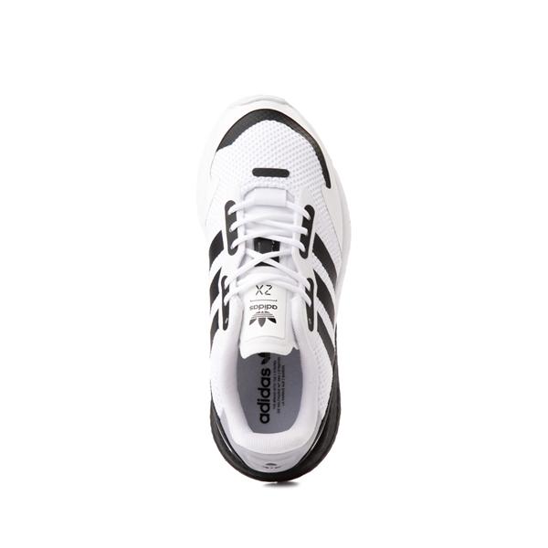 alternate view adidas ZX 1K Boost Athletic Shoe - Big Kid - WhiteALT2